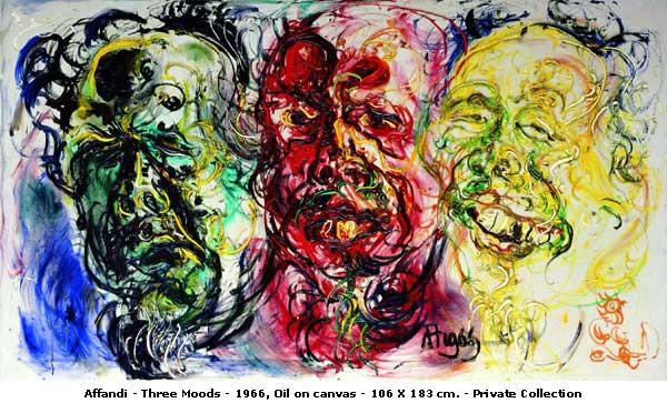 Karya Lukisan Affandi   Blog Seni Rupa