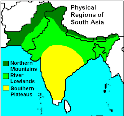 Icse Resource Provider: Physical features of South Asia