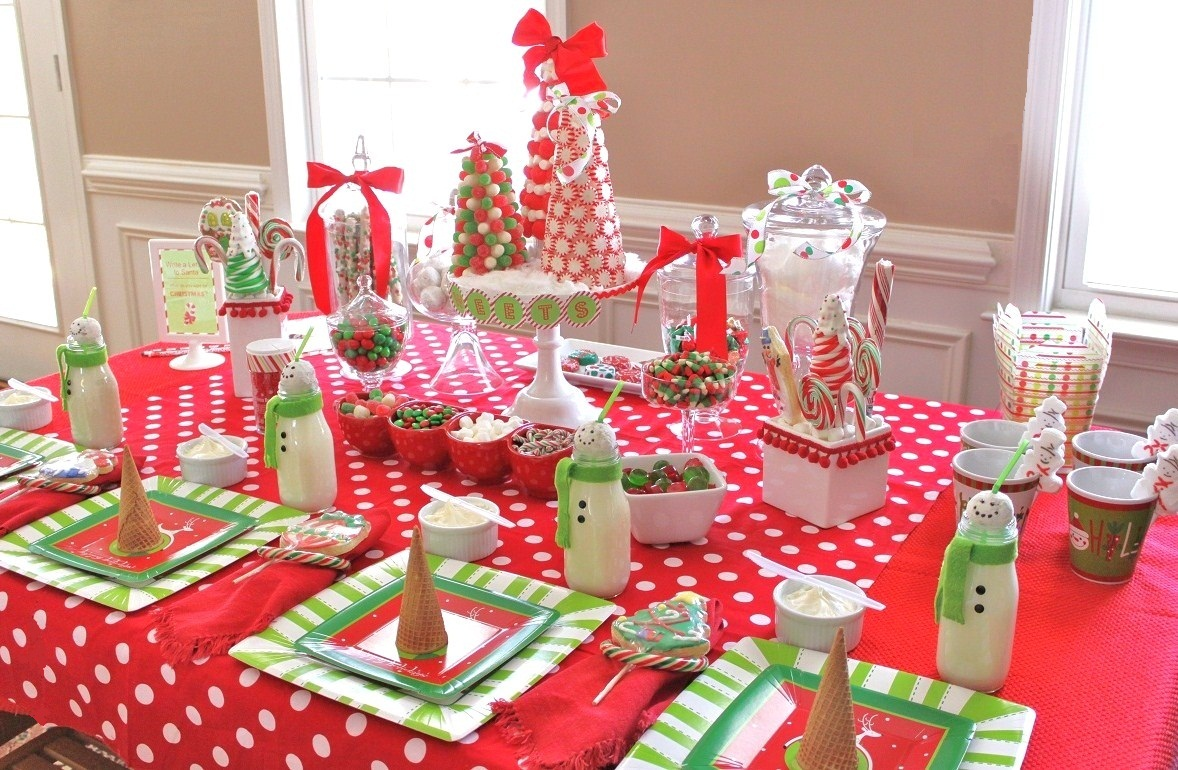 Savvy Deets Party Boutique: Sweet Kids Christmas Party ideas