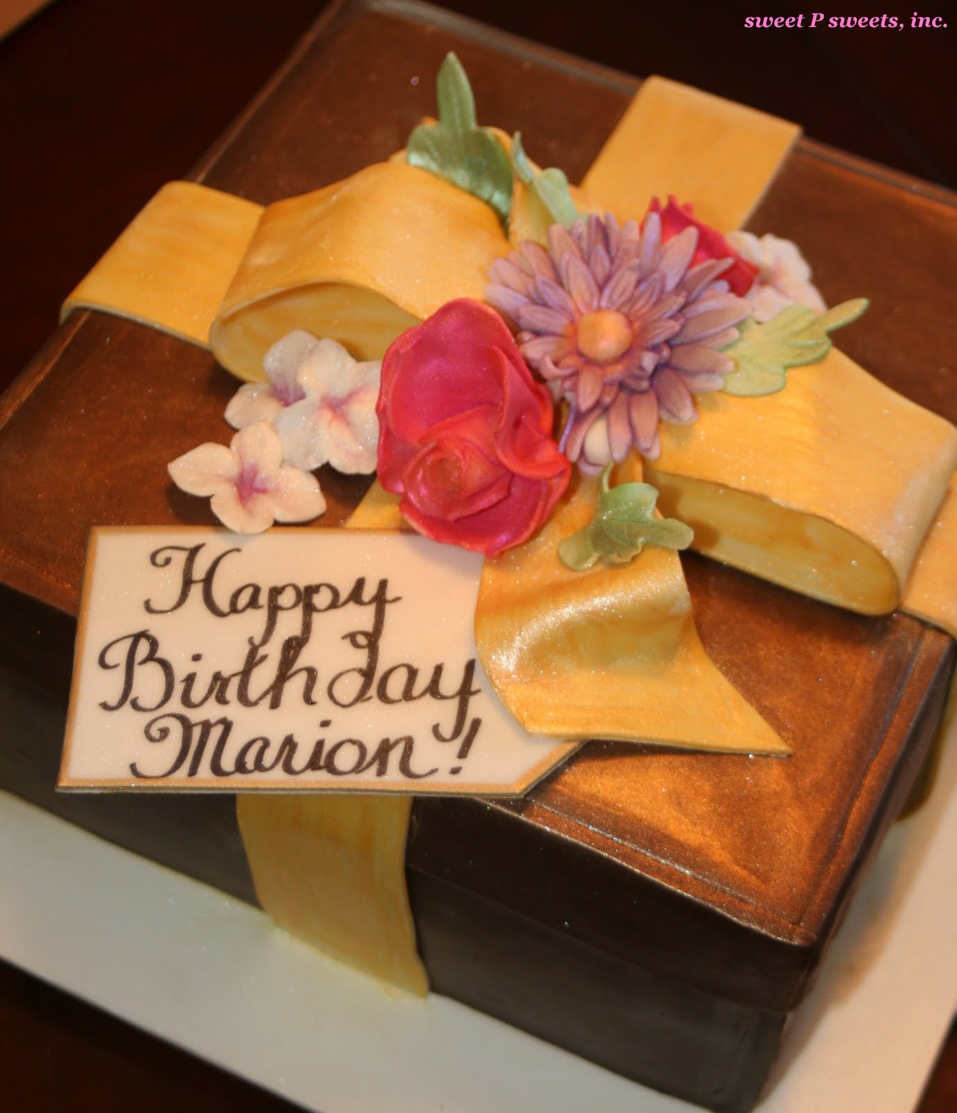 Birthday Cake Marion