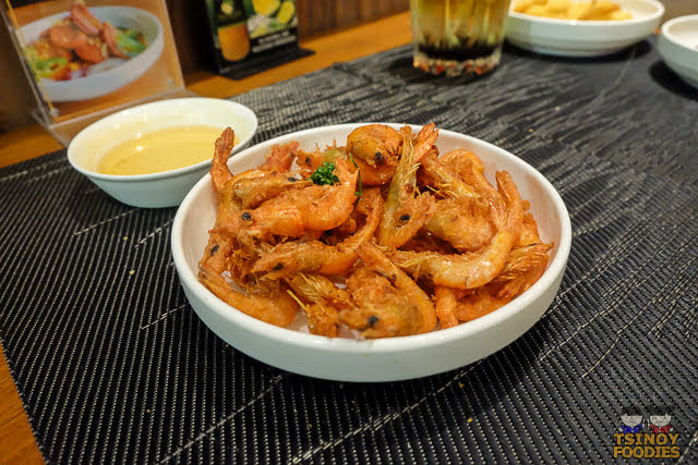 crispy shrimps