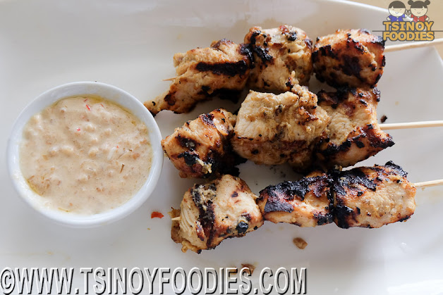 indonesia chicken satay