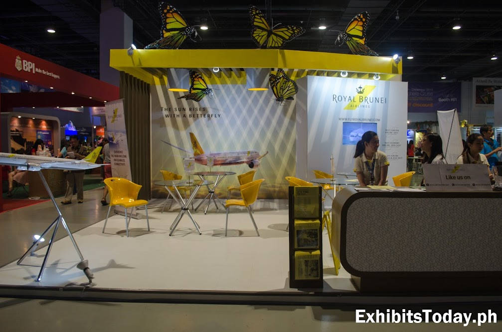 Royal Brunei Airlines Trade Show Display