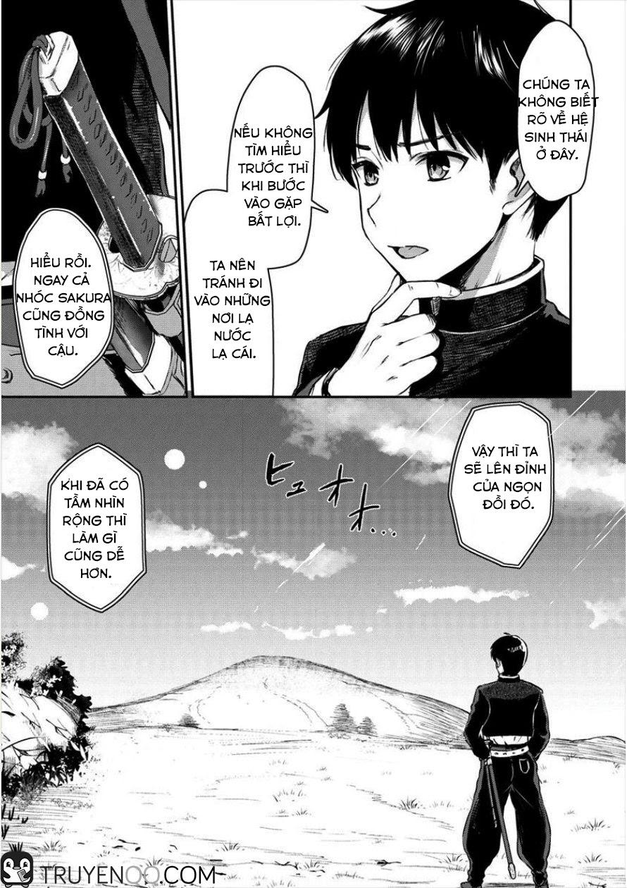 Makenshi No Maken Niyoru Maken chap 1 - Trang 13
