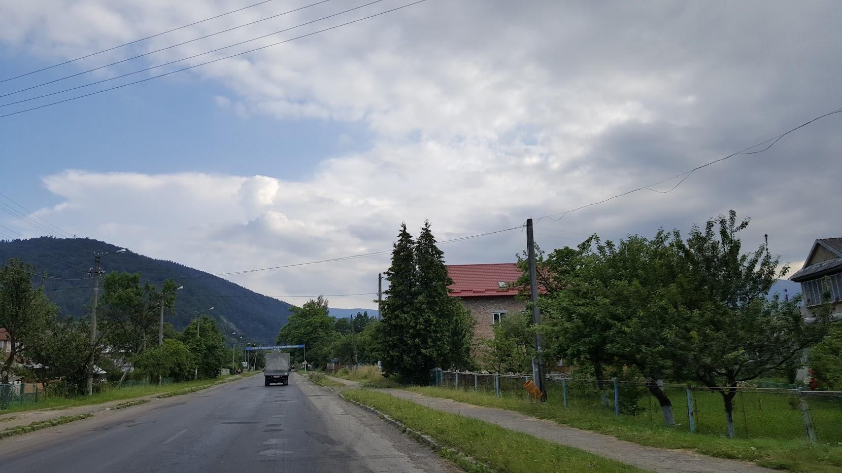 Украина, Карпаты, Яремче, Ворохта, горы