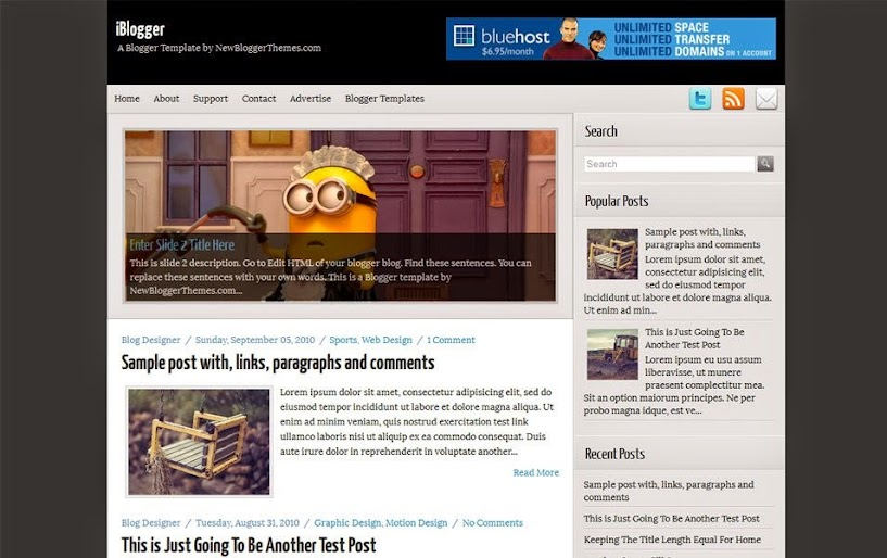 Best Free Responsive Blogger Templates for 2020: eAskme