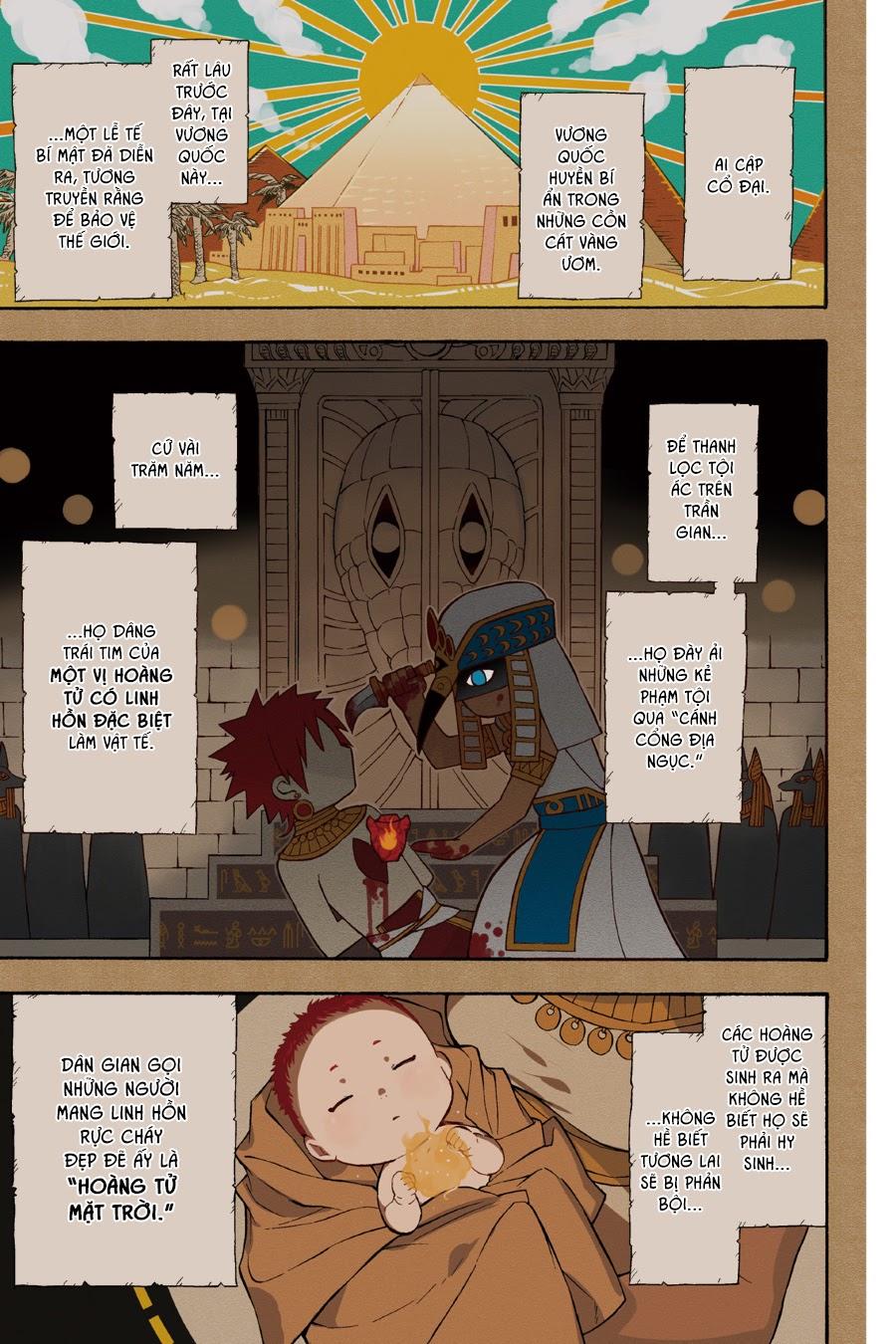 Im - The Great Priest Imhotep Ngoại Truyện