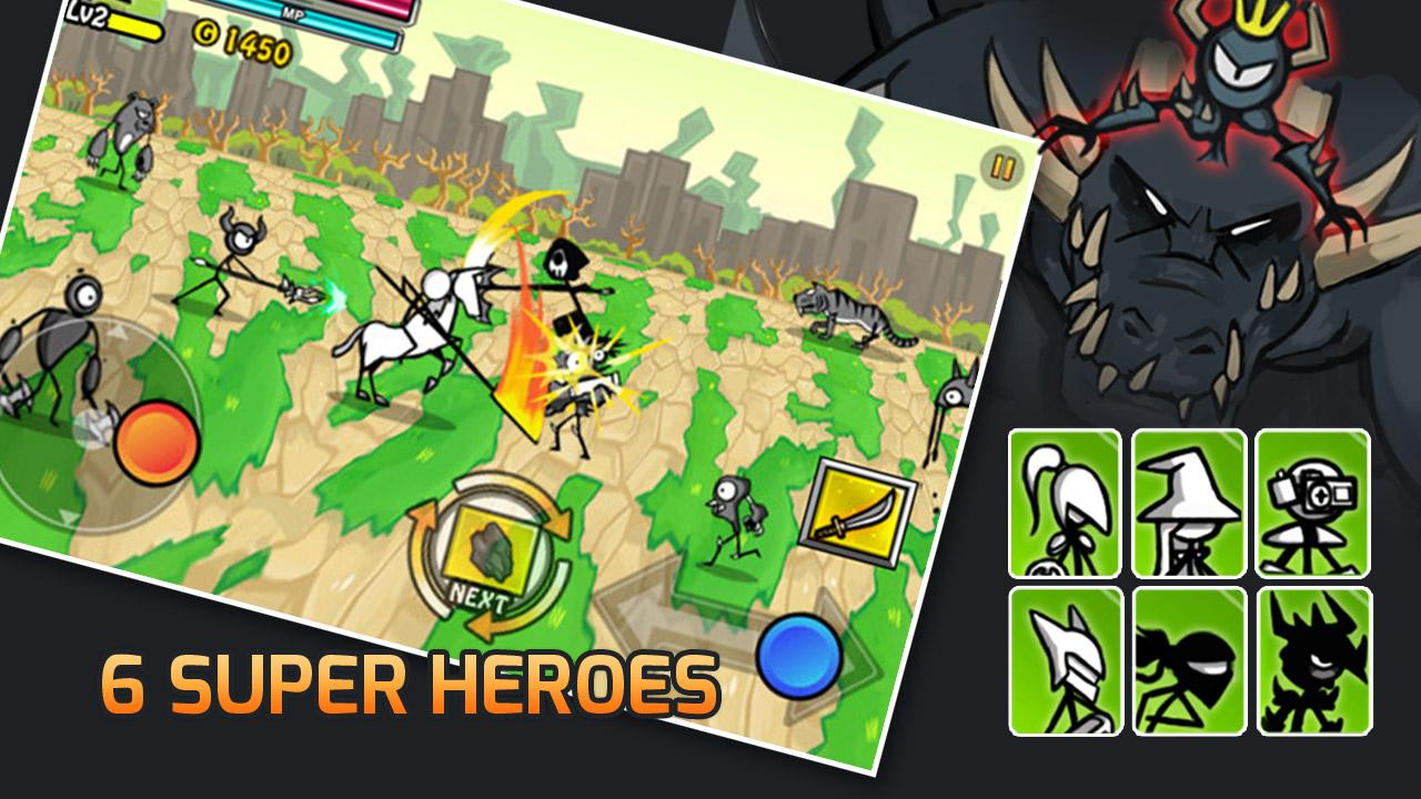 download game cartoon wars apk mod