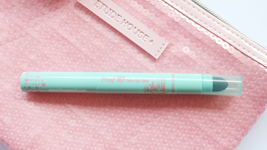 Etude House Bling in The Sea Proof 10 Color Eye Stick in Mermaid Pink
