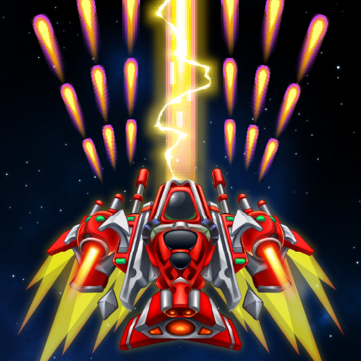 Game Sky Raptor: Space Shooter - Alien Galaxy Attack V1.5.5 Mod Unlimited Money
