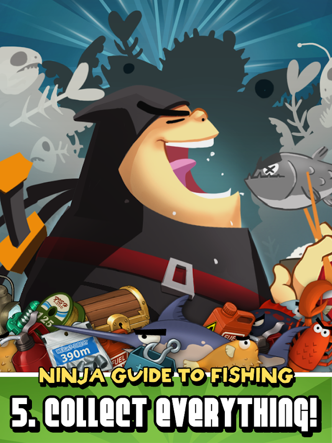 Ninja Fishing v1.7.1 APK Casual Games Free Download