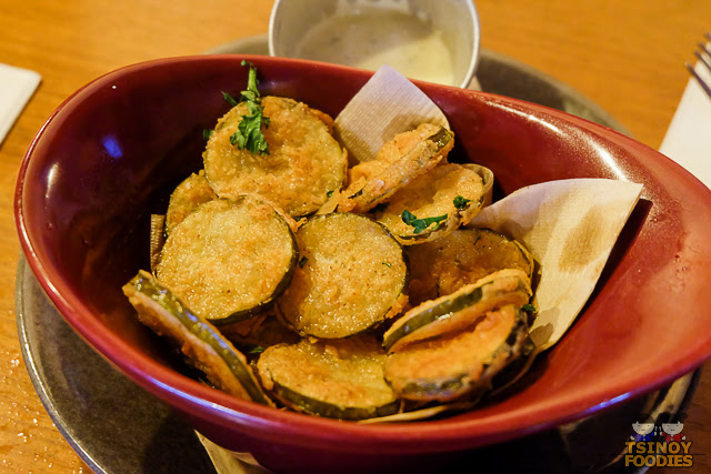 fried sweet and spicy pickles