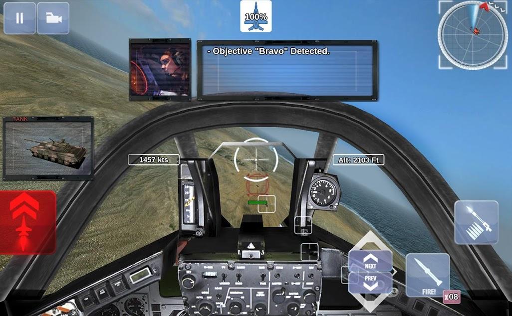 game pesawat tempur terbaik android