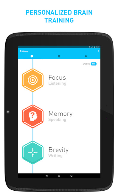 Elevate Android Brain Training Application