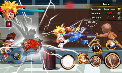 Chaos Fighter Kungfu Fighting Mod Full