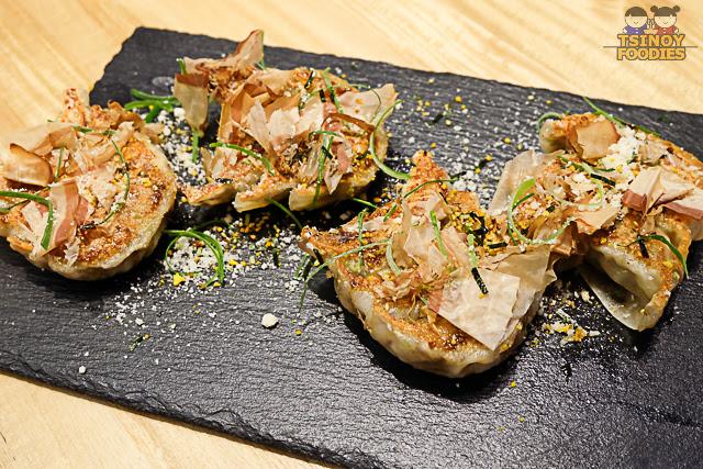 truffle gyoza