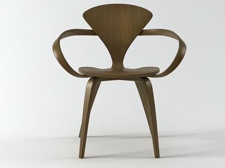 [3Dsmax] 3D model free- Cherner Armchair