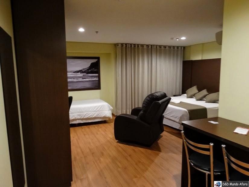 Olavo Bilac Apart Hotel - onde ficar em Taubaté SP