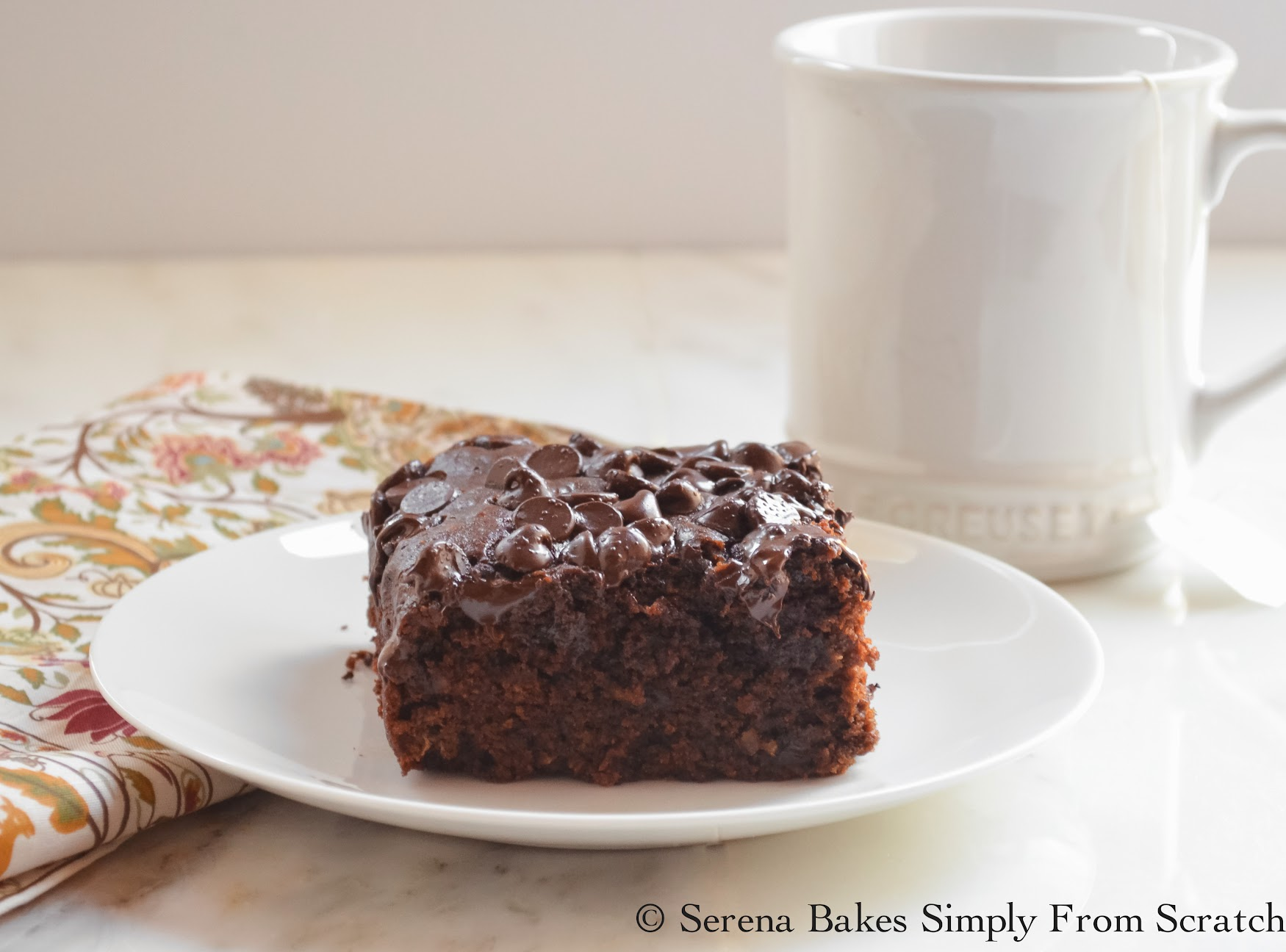 Eggless Chocolate Banana Monkey Snack Cake so easy to make.