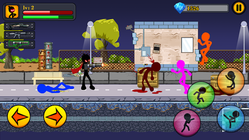 Mafia stickman Stickman warriors Epic fight Hack