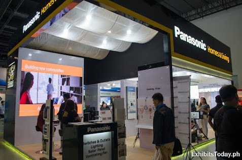 Panasonic Homes & Living trade show display
