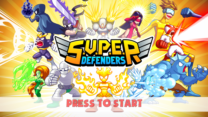 Game - S.U.P.E.R: Super Defenders v1.5 Apk mod One Hit