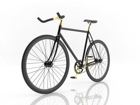 [3Dsmax] 3D model free - Fixie Bike