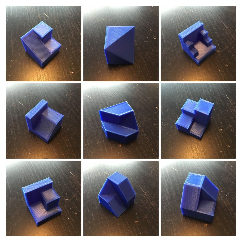 Modelos impresos 3D