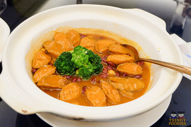 stewed abalone with red beans