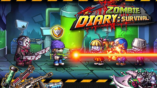 Zombie Diary Hack Full Tiền Vàng Cho Android