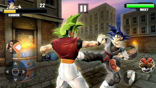 Super Goku Fighting Legend Street Hack Full Tiền Vàng Gold