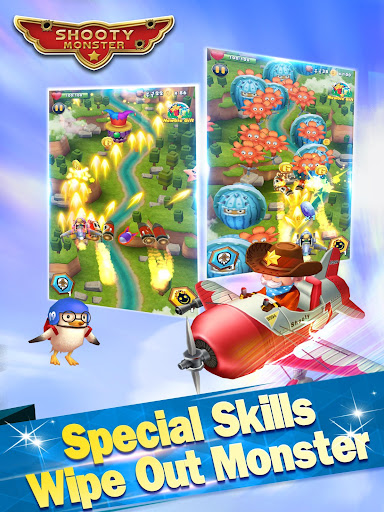 Shooty Monster Attack Sky Fortress Hack Full Tiền Vàng Cho Android