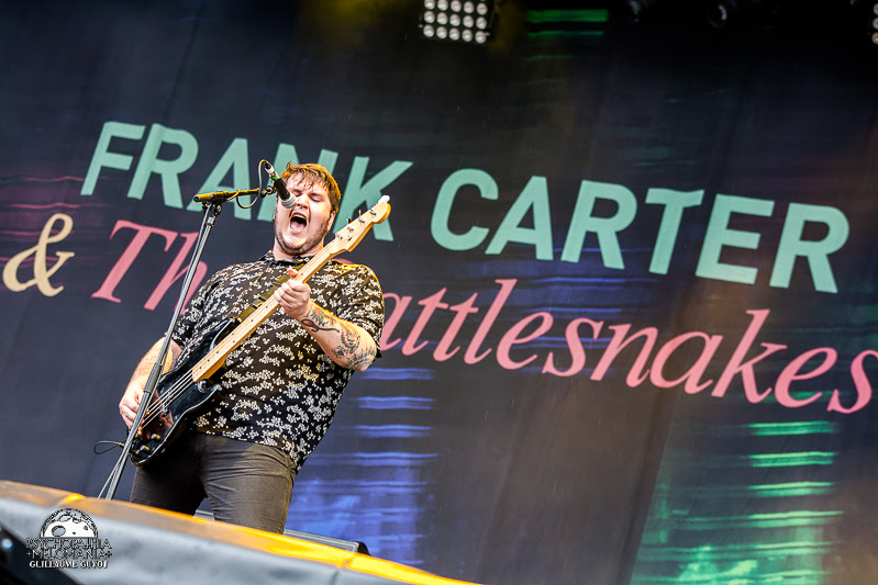Frank Carter And The Rattlesnakes @Main Square Festival 2017, Arras 30/06/2017
