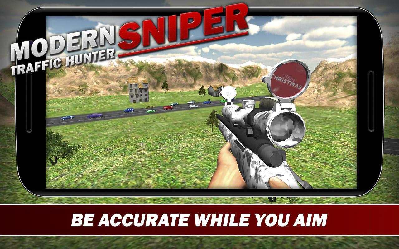 Modern Sniper : Traffic Hunter
