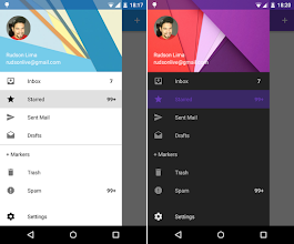 Android Navigation Drawer-Material Design