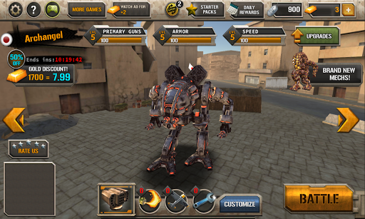 Game Mech Legion Age of Robots