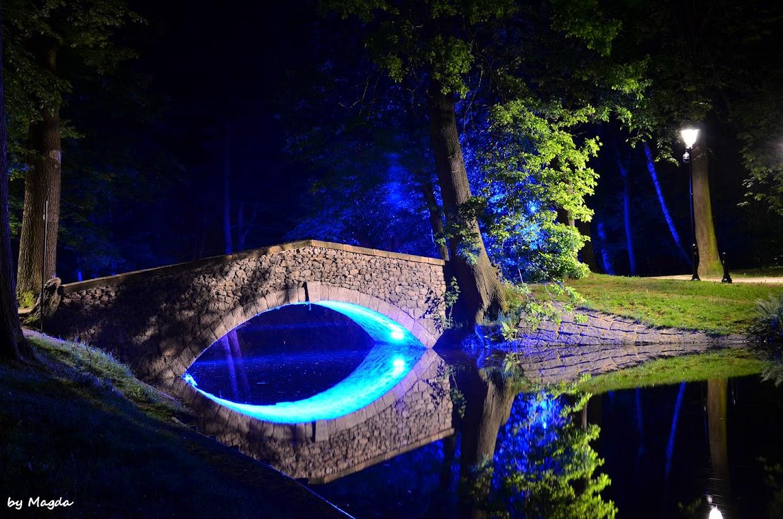 Park Norweski, zabytkowy most