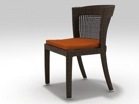 [3Dsmax] 3D model free - Bonneville Chair