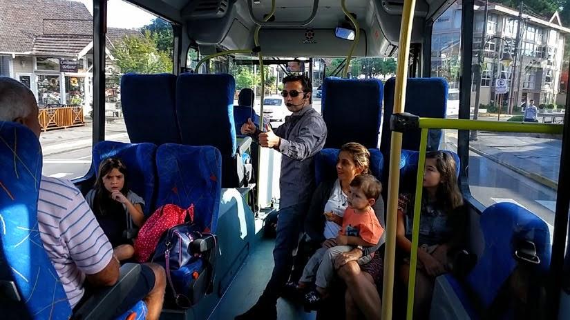 Guia no Tour Linha Bela - Transfer e passeio no Rio Grande do Sul - Brocker Turismo