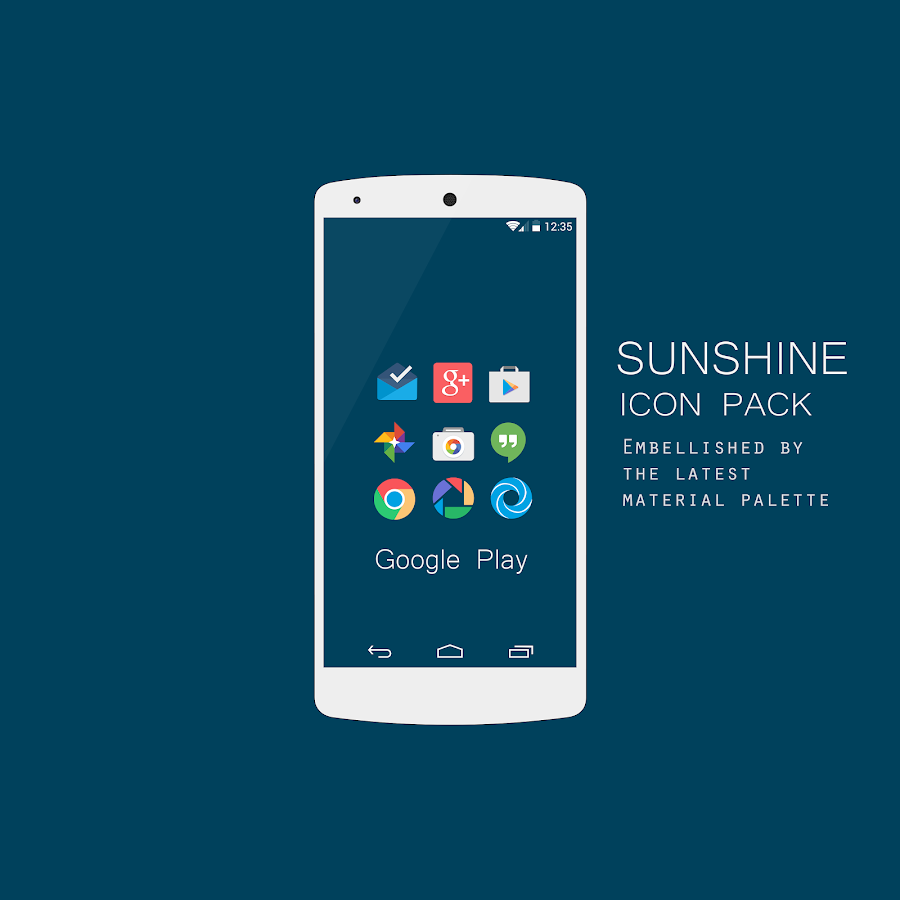 sunshine icon pack apk 2.3
