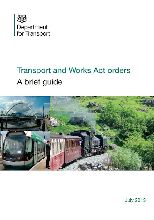 Transport and Works Act Orders (TWAO) - Phoenix 17q4 No.82