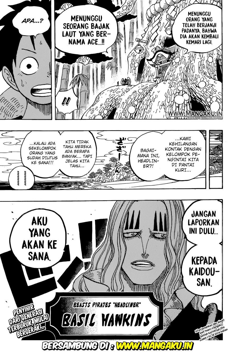 Komik Manga One Piece Chapter 912 Bahasa Indonesia