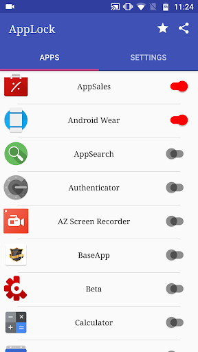 ApzLock - Fingerprint, Pattern, PIN lock for apps