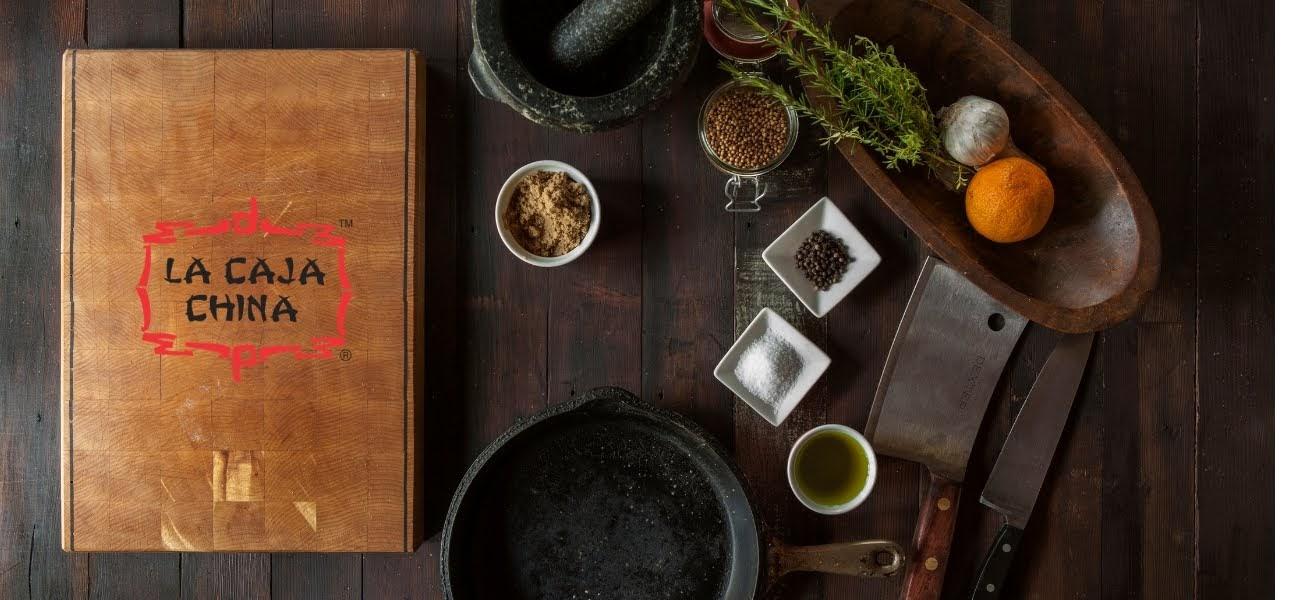 spices for recipe of adobo la caja china