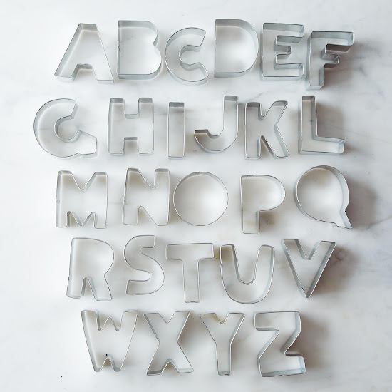 Alphabet Cookie Cutter Set | Provisions by Food52