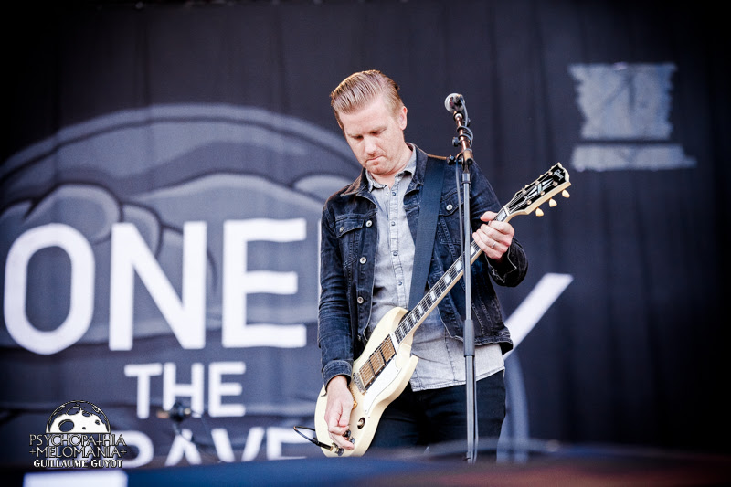 Lonely The Brave @Main Square Festival 2016, Arras 02/07/2016