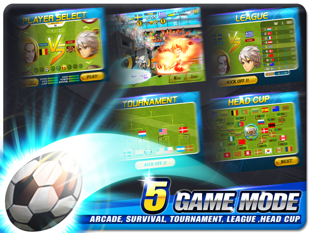 Download Head Soccer Apk Mod Terbaru 2015