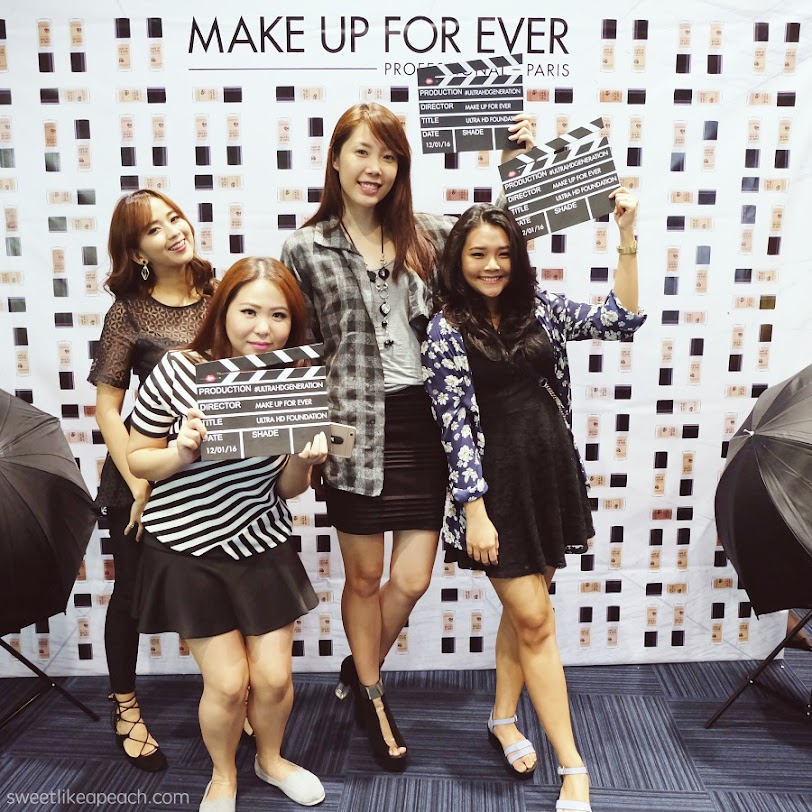 Make Up For Ever The First 4K Ultra HD Complexion Launching Event