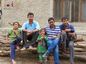 Group pic at Dah village in Kargil