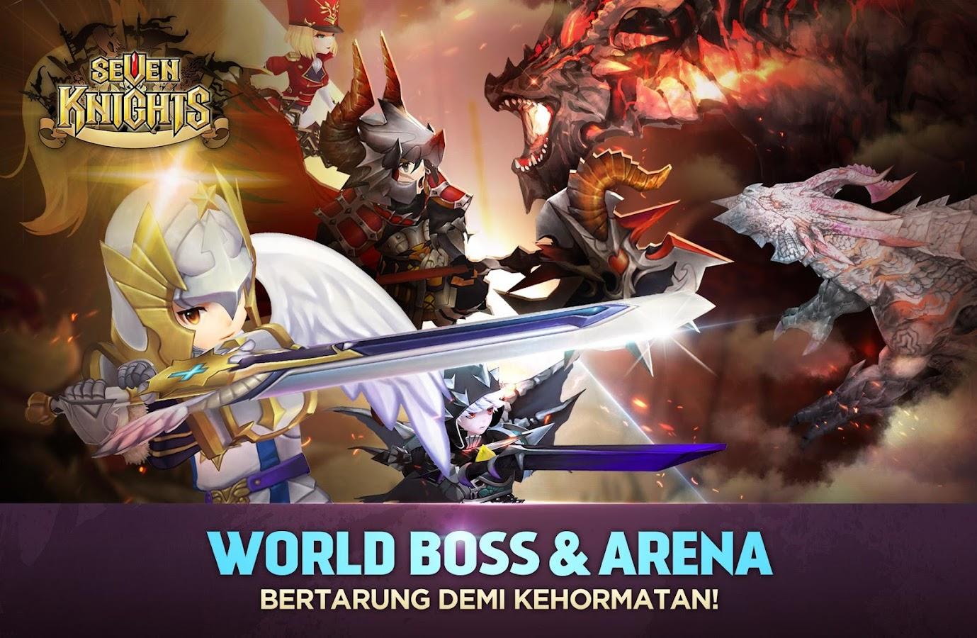Permainan Seven Knights 2.1.00 Apk Update 2017